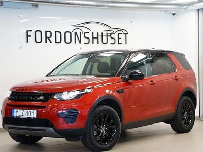 begagnad Land Rover Discovery Sport 2,0 TD4 AWD 2017, SUV 279 000 kr
