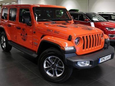 begagnad Jeep Wrangler Unlimited JL Sahara 2.0 272hk Aut 4WD - DEMO