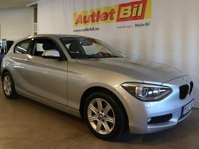 begagnad BMW 118 d 3-dörrars 3dr 146hk V-däck M-värm