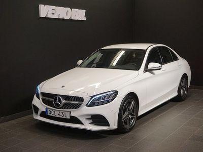 begagnad Mercedes C200 d Sedan AMG-Exteriör Back
