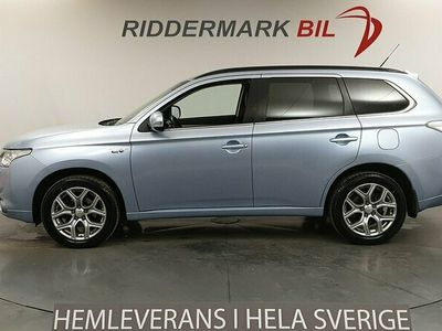 begagnad Mitsubishi Outlander P-HEV 2.0 Hybrid 4WD M-Värm Drag Navi