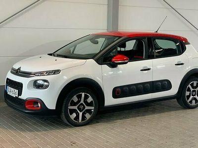 begagnad Citroën C3 1.2 PureTech SHINE 2017, Halvkombi Pris 109 900 kr