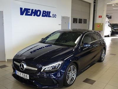 begagnad Mercedes 220 CLA-Klassd/4MATIC/Shooting Brake/AutomatAMG Sky/Dragkrok/Vinterpa