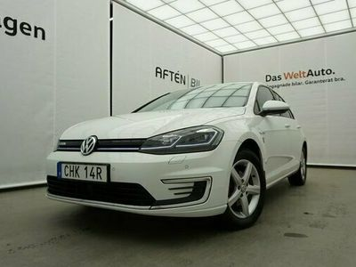 begagnad VW Golf Plus E-Golf 35.8 kWh Pluspaket Active Info Display 2019, Halvkombi Pris 264 900 kr