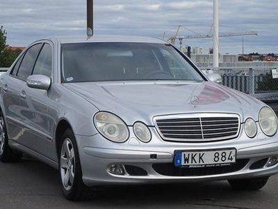 begagnad Mercedes E200 Kompressor 163hk, Automat Svensksåld