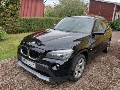 begagnad BMW X1 xDrive18d 143HK, 4WD, Drag -12