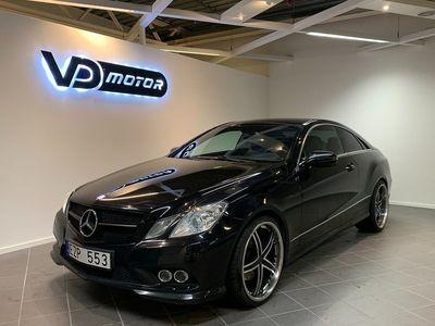 begagnad Mercedes E250 CDI Coupé Aut AMG Ferrita 20''