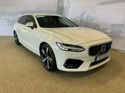 begagnad Volvo V90 D4 R-Design, Garanti 24 månader, On call, Parkeringskamera 360°, Head Up Display, Navigation, Smartphone Integration