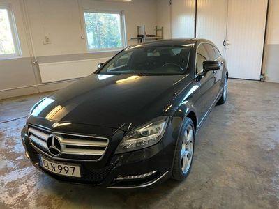 begagnad Mercedes CLS350 4-matic