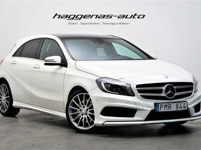 begagnad Mercedes A250 211hk / AMG-line / Panorama
