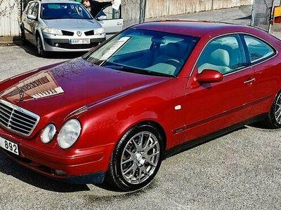 begagnad Mercedes CLK200 Coupé Elegance 136hk,Lågmil,Sommarkörd