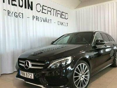begagnad Mercedes C200 C BenzKOMBI AMG BURMESTER DRAG 2017, Kombi Pris 269 900 kr
