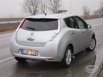 begagnad Nissan Leaf (Aut+Backkamera+GPS+109hk)
