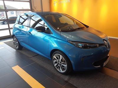 used Renault Zoe 41 kWh Intens Batterihyra tillkommer från 699/Mån, Garanti 24 Månader