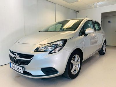 begagnad Opel Corsa 1.4 Euro 6 90hk Pluspaket Motorvär