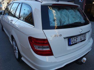 begagnad Mercedes C200 CDI AMG Pkt Aut Drag LM S -12