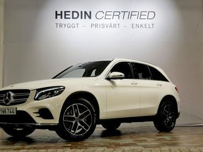 begagnad Mercedes 250 GLC Benz4-MATIC AMG PANORAMA DRAG BURMESTER 2018, SUV 354 900 kr