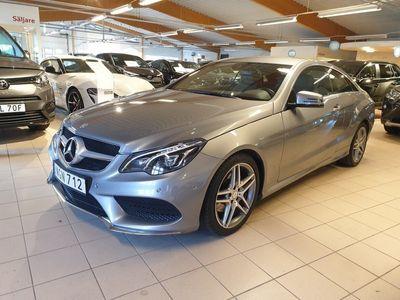 begagnad Mercedes E250 CDi Coupé AMG-sport 7G-TronicPlus 204hk