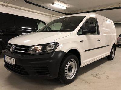 begagnad VW Caddy Maxi TDI/DSG/VÄRMARE/DRAG/INREDNING MOMSBIL