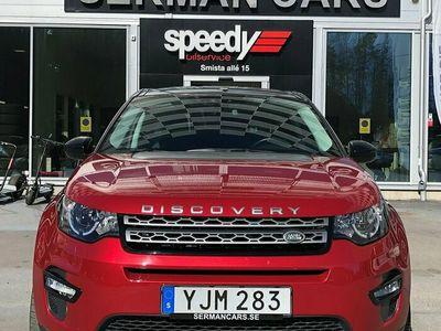 begagnad Land Rover Discovery Sport 2.0 TD4 4WD Aut Navi DRAGKROK