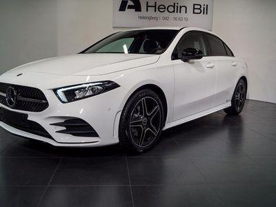 begagnad Mercedes A200 A Benzd Sedan AMG-Line Navi 2020, Halvkombi 344 550 kr