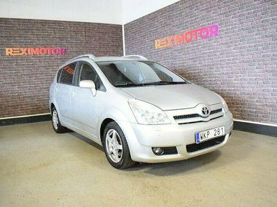 begagnad Toyota Corolla Verso 1.8 VVT-i 7-sits 129hk Besiktad