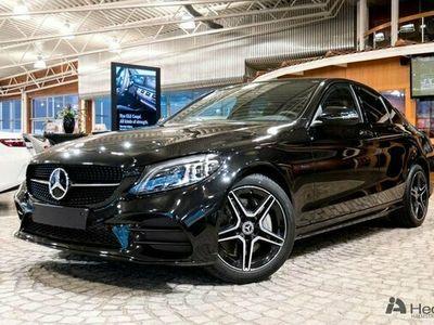 begagnad Mercedes C300 C Benzde AMG Night Edition & Premiumpaket 2021, Sedan Pris 521 850 kr