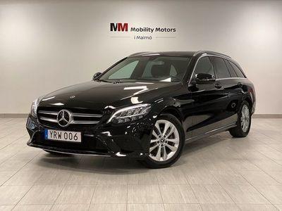 begagnad Mercedes C200 T d 9G-Tronic Avantgarde Drag M-Värme