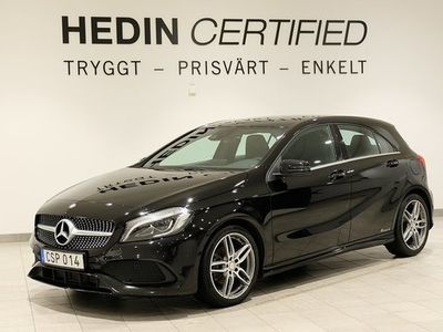 begagnad Mercedes A180 A BenzD AMG, Apple Carplay, 2 Års Nybils 2017, Halvkombi 185 000 kr