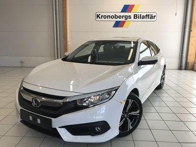 begagnad Honda Civic 4D 1.5 Turbo 182hk Elegance Navi CVT