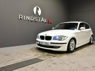 begagnad BMW 118 d 143 HK 3D KAMKEDJA ADVANTAGE S&V-DÄCK E81
