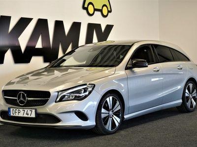 begagnad Mercedes CLA200 Shooting Brake d 4M SB | Navi | H&K | S&V hjul