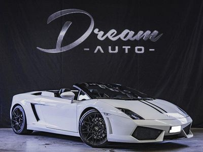 begagnad Lamborghini Gallardo LP 560-4 Spyder 5.2 V10 AWD E-Gear 560hk