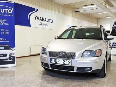 begagnad Volvo V50 D5 Automat Momentum 180hk -07