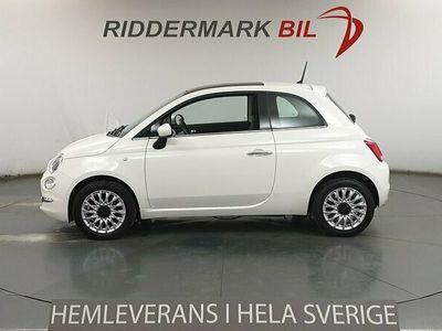 begagnad Fiat 500 1.2 Lounge Glastak Ny Kamrem P-sensorer Euro 6 69hk