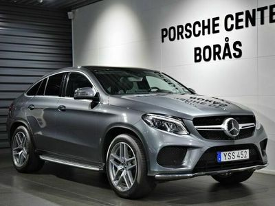 begagnad Mercedes GLE350 - Benzd 4MATIC Coupé 9G - Tronic