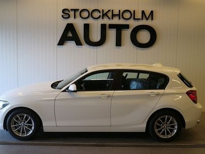 used BMW 118 d D Aut 143hk / Nyservad /