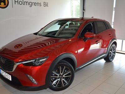 begagnad Mazda CX-3 2.0 FWD (120hk) delskinn/manuell/bensin