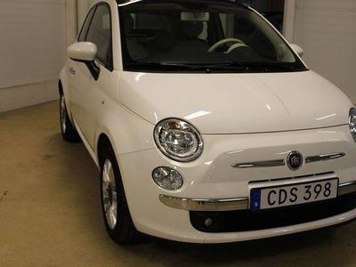 brugt Fiat 500 LOUNGE 1,2 69 HK CAB