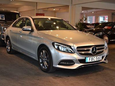begagnad Mercedes 220 Benz C d Aut 4Matic Gps Drag Euro 6 2017, Sedan 299 900 kr