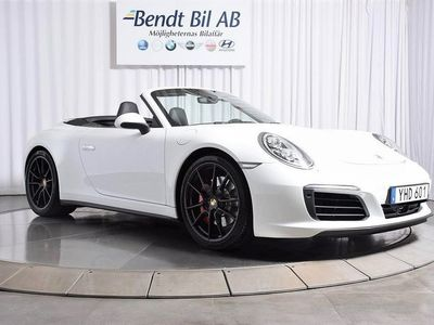begagnad Porsche 911 Carrera 4S Cabriolet PDK 420hk