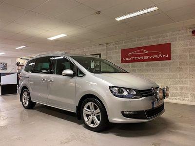 begagnad VW Sharan 2.0TDI 4M Panorama Värmare