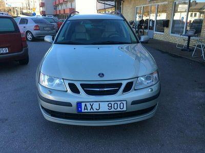begagnad Saab 9-3 SportCombi 2.0 T Vector 175hk Ny besiktigad