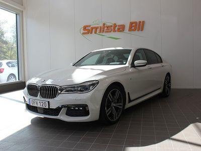 begagnad BMW 740 d xDrive M Sport, Executive Laser Sv-Såld