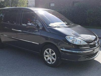 begagnad Peugeot 807 2.2 7-sits 170hk/Drag/Helskin