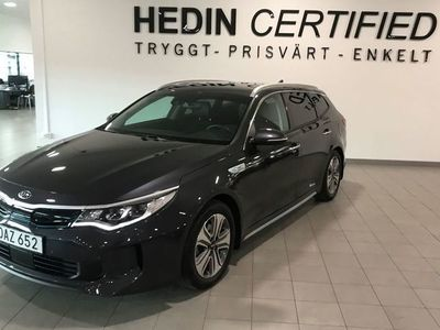 begagnad Kia Optima Hybrid Plus 1 paket Hybrid P-HEV 2.0 Automatisk, 205hk, 2018