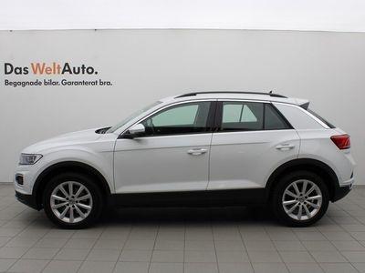 begagnad VW T-Roc 2.0 TSI 4M 190 DSG/P-värmare/Plus/Active