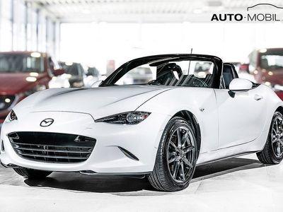 begagnad Mazda MX5 2.0 184 hk, Svart skinn