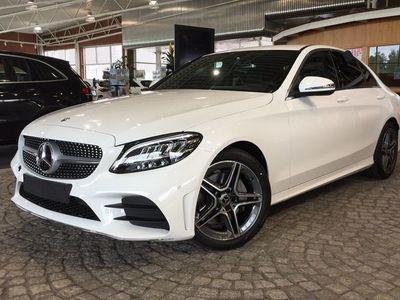begagnad Mercedes C200 d // AMG Line & Drag //