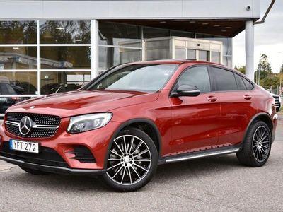 begagnad Mercedes GLC250 COUPÈ 4MATIC AMG BURMESTER TAKLUCKA 211HK